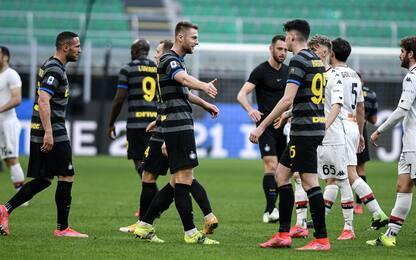 L'Inter è tra le difese meno battute in Europa