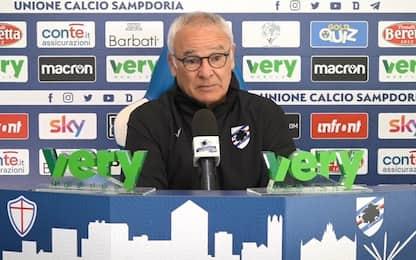 """Ranieri: """"Derby? Gara che fa ribollire il sangue"""""""