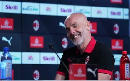 "Pioli: ""Ibra a Sanremo? No, guardo Juve-Spezia"""
