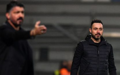 """De Zerbi: """"Grande gara, dovevamo vincere noi"""""""