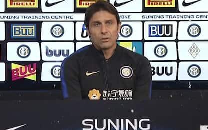 """Conte: """"Critiche? Tocchino me ma non l'Inter"""""""