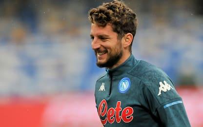 Sassuolo-Napoli LIVE: Mertens confermato titolare