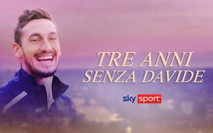 Davide Astori, su Sky il ricordo in due speciali
