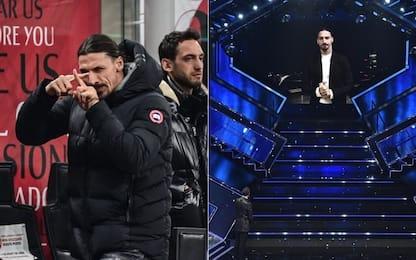 """Da San Siro a Sanremo: ancora uno """"show"""" di Ibra"""