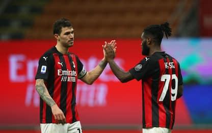 Punti raccolti dopo il 90': nessuno come il Milan