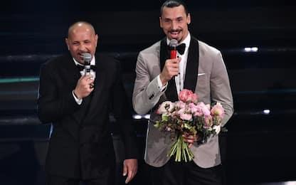 Ibra e Mihajlovic cantano a Sanremo. VIDEO