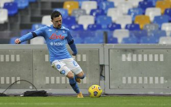 Mario Rui player of Napoli, during the match of the Italian football league Serie A between Napoli vs Fiorentina final result 5-0, match played at the Diego Armando Maradona stadium. Italy, January 17, 2021. (Photo by Vincenzo Izzo/Sipa USA)