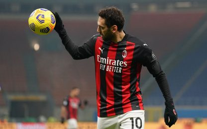 Assist da fermo, nessuno come Calhanoglu in A