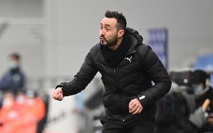 """De Zerbi: """"A Udine con tanti dubbi di formazione"""""""
