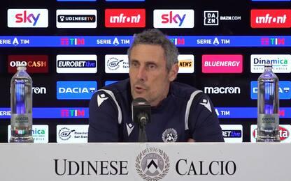 """Udinese, Gotti: """"Andiamo oltre il pari col Milan"""""""