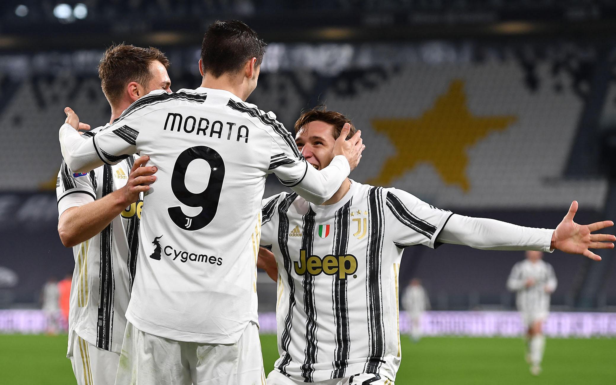 Juve Lazio 3-1, gol e highlights. Doppietta di Morata, Pirlo vince ancora e  aspetta il Porto | Sky Sport