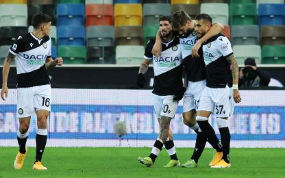 Udinese-Sassuolo 1-0 LIVE: entra Caputo
