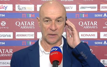 """Ballardini: """"Avremmo potuto far male alla Roma"""""""