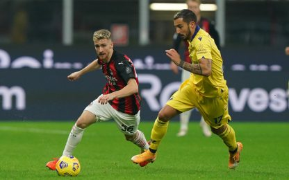 Verona-Milan, Pioli in emergenza: Theo in panchina