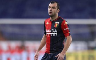 Goran Pandev of Genoa CFC during the Serie A match at Luigi Ferraris, Genoa. Picture date: 1st November 2020. Picture credit should read: Jonathan Moscrop/Sportimage via PA Images