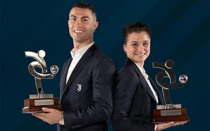 Ronaldo eletto giocatore dell'anno per il 2020