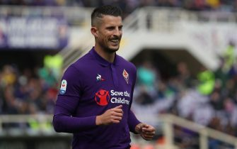 Fiorentina's forward Kevin Mirallas during the Italian Serie A soccer match between ACF Fiorentina and Frosinone at the Artemio Franchi stadium in Florence, Italy, 7 April 2019ANSA/CLAUDIO GIOVANNINI