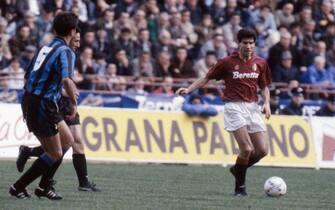 Foto LaPresse Torino/Archivio storicoStoricoanni '90Vincenzo Scifo (La Louvière, 19 febbraio 1966) è un allenatore di calcio ed ex calciatore belga, di ruolo centrocampista.nella foto: Vincenzo Scifo