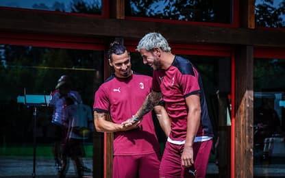 """Theo: """"Felice al Milan. Ibra? A volte mi sgrida"""""""