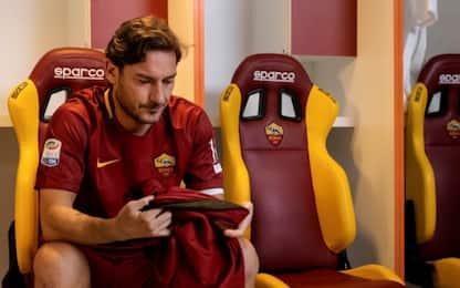 Il vero Totti in campo per il gran finale. VIDEO