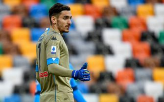 Alex Meret (Napoli) portrait during Udinese Calcio vs SSC Napoli, Italian football Serie A match in udine, Italy, January 10 2021