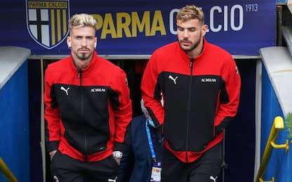 Parma-Milan LIVE: torna Rebic dal 1'
