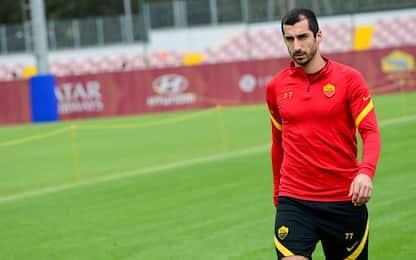 La Roma recupera Mkhitaryan: si allena in gruppo