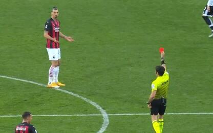 Ibrahimovic, un turno di squalifica e multa