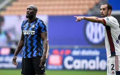 Inter-Cagliari 0-0 LIVE: chance Lukaku e Eriksen