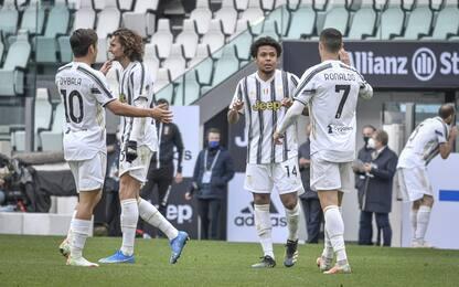 Tris al Genoa, Juve di nuovo a -1 dal Milan