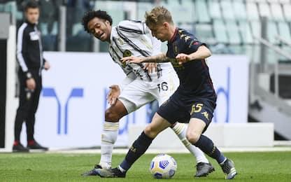 Juve-Genoa 2-0 LIVE: Szczesny salva su Scamacca