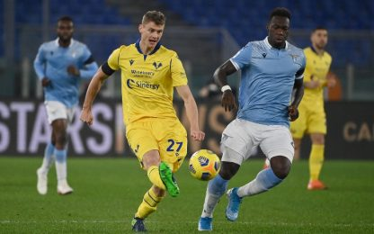 Verona-Lazio, le probabili: Caicedo con Immobile