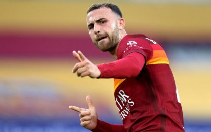 Roma-Bologna 1-0 LIVE, gol di Borja Mayoral