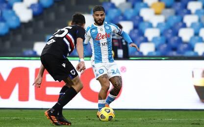 Sampdoria-Napoli, dove vedere la partita in tv