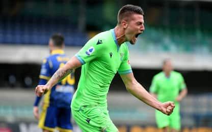 "Milinkovic-Savic: ""Champions? Noi ci crediamo"""