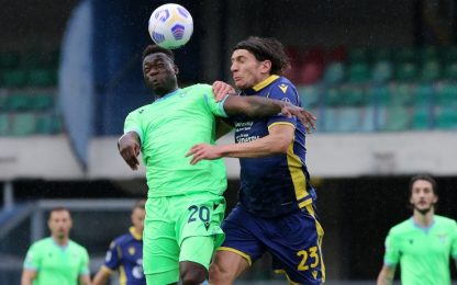 Verona-Lazio 0-0 LIVE: gol annullato a Caicedo