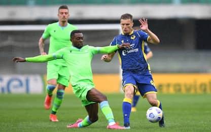 Verona-Lazio 0-0 LIVE: Immobile colpisce il palo