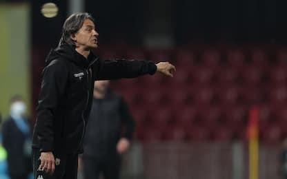 """Inzaghi: """"Dato tutto, peccato per il gol preso"""""""