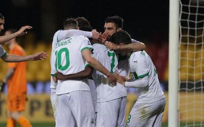 Il Sassuolo torna a vincere: Benevento ko 1-0