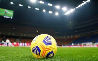 ESCLUSIVA MILAN Foto LaPresse - Spada03 MARZO  2021 - Milano  (Italia) Sport Calcio A.C. Milan- Stagione 2019-2020 - Serie A Milan vs UdineseNella foto: pallone EXCLUSIVE MILAN Photo LaPresse - SpadaMarch 03 , 2021 Milan ( Italy ) Sport SoccerA.C. Milan- Season 2019-2020 - Serie A Milan vs UdineseIn the pic: official ball