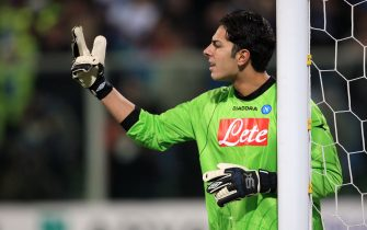 Luigi Sepe, Napoli goalkeeper  (Photo by Adam Davy - PA Images via Getty Images)