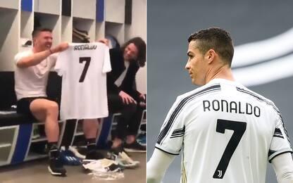Regalo per Gosens: la maglia negata da Ronaldo