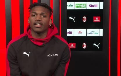 """Leao: """"Il Milan merita di tornare in Champions"""""""