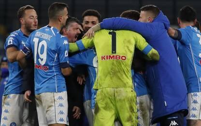 Il Napoli corre, ritmo scudetto per la Champions