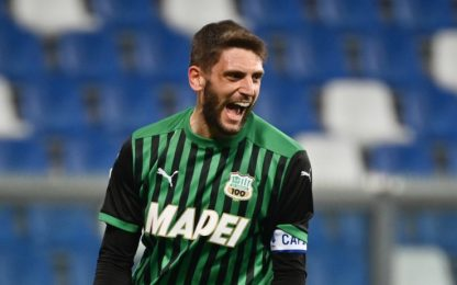 Sassuolo-Fiorentina 2-1 LIVE: doppio Berardi in 3'