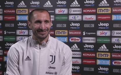 """Chiellini: """"Mai con un'altra maglia in Europa"""""""