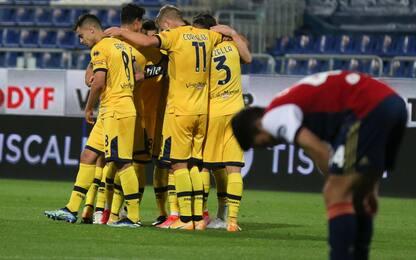 Cagliari-Parma 2-3 LIVE: Marin accorcia