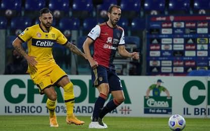Cagliari-Parma 1-2 LIVE: Pavoletti accorcia