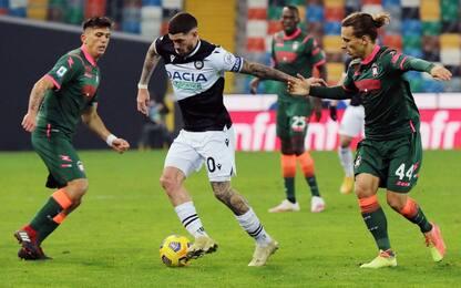Crotone-Udinese, dove vedere la partita in tv