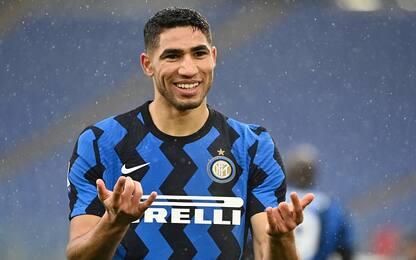 """Hakimi: """"L'Inter il mio futuro, cresco con Conte"""""""